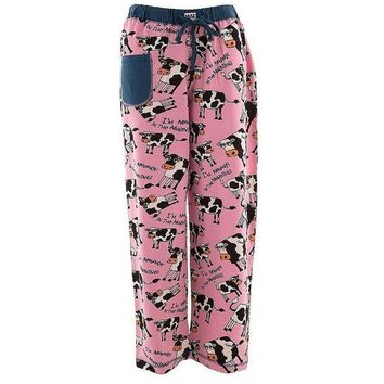 PEAPGQ9 Cow Moody In the Morning Women's Pajama Pants