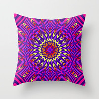 Mix #145 Throw Pillow by Ornaart | Society6