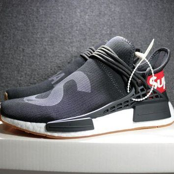 VON3TL Sale Supreme x Pharrell Williams x Adidas PW HU Human Race NMD Hu Boost Sport Running Shoes Classic Casual Shoes Sneakers
