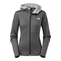 The North Face Women's Agave Hoodie Jacket TNF Black Heather