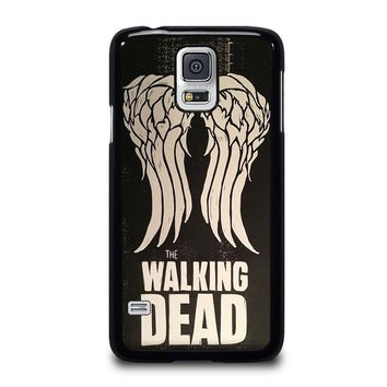 walking dead daryl dixon wings samsung galaxy s5 case cover  number 2