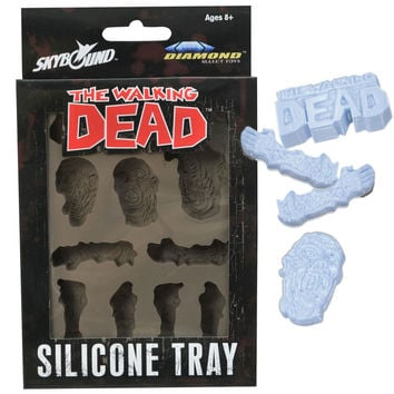 Stupid.com: The Walking Dead Silicone Ice Tray