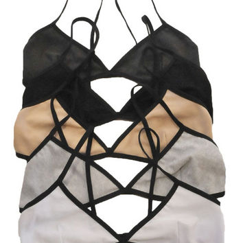 Simple Cotton Bralette
