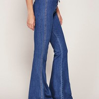 Free People Practical Aspect High Rise Flare