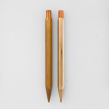 Ystudio Brass Mechanical Pencil