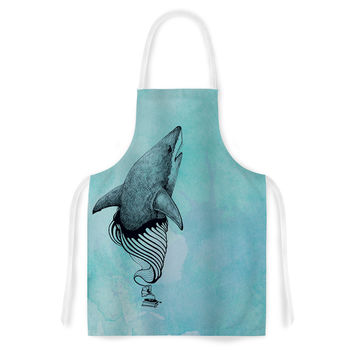 "Graham Curran ""Shark Record III"" Artistic Apron"