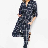 Just Female Free Jumpsuit- Blue Multi