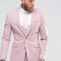 2017 Custom Made Pink Slim Fit Tuxedo Men Wedding Suits Groom Formal Business Suits Party Suits Blazer+Pants
