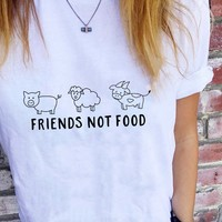 Friends Not Foods - T-Shirt