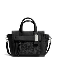 Coach Bleecker Leather Mini Riley Pocket Carryall Tote