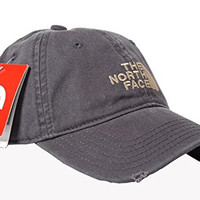 The North Face Unisex Adjustable Horizon Classic Cap (Gray, One Size)