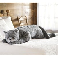 Cat Body Pillow - Plow & Hearth