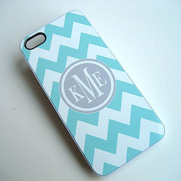 iPhone Case   iPhone 5  Tiffany Blue and White by VillageVinyl