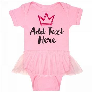 Cute Custom Tutu Onesuit
