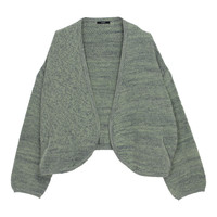 VIVID TWEED KNIT CARDIGAN - EMODA Global Online Store