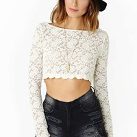 Lennox Lace Crop Top