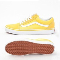Vans Classics Old School Skool Yellow Sneaker Shoes