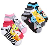 Disney's Women's 6-Pk. Assorted Tsum Tsum Socks | macys.com