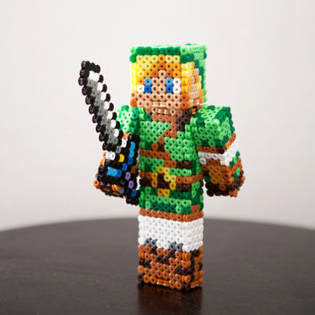 The Legend of Zelda character Link figure. Custom skins.