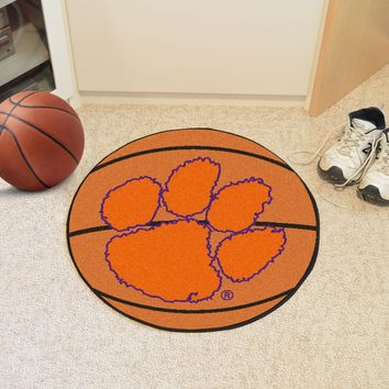 "Clemson Basketball Mat 27"" diameter"