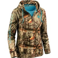 Legendary Whitetails Ladies Power 1/2 Zip Hoodie Medium