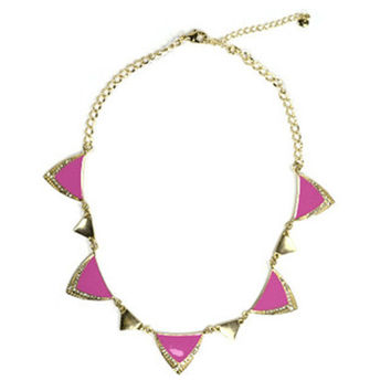Electric Pink Necklace