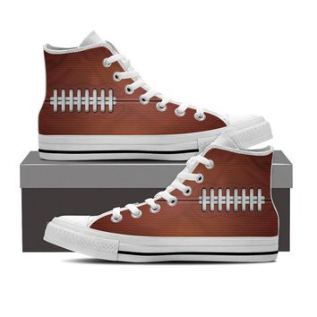 Football Pattern Shoes
