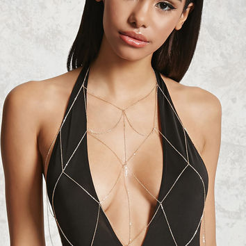 Netted Body Chain