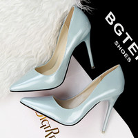 Slip-On Pointed Toe Pumps