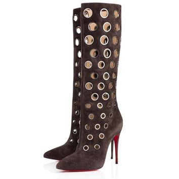 Christian Louboutin Women Fashion Casual Heels Shoes Boots-68