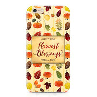 Fall Leaves iPhone 6s, Samsung Galaxy s6, Thanksgiving, Autumn, Harvest Blessings, Leaves, Phone Case, Samsung Galaxy S6 Case, Phone Cover