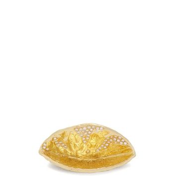 18kt gold and diamond coconut shell ring | Patcharavipa | MATCHESFASHION.COM US