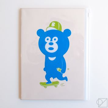 Mark's 2018 Wonder Bear A5 Monthly Planner
