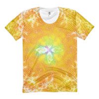 Flowering Explosion of Enlightenment || Women's sublimation t-shirt — Future Life Fashion