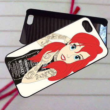 Little mermaid - case iPhone 4/4s,5,5s,5c,6,6+samsung s3,4,5,6