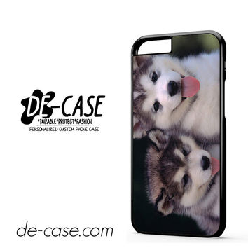 Siberian Husky Puppies Dog For Iphone 6 Iphone 6S Iphone 6 Plus Iphone 6S Plus Case Phone Case Gift Present