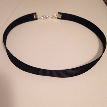 Simple Black Choker