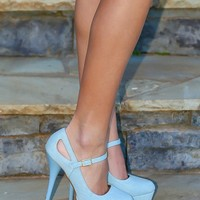 Working Up The Courage Heels-Sky