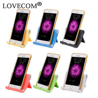 For iPhone Samsang iPad All Smart Phone Mobile Phone Holders & Stands Candy Color Foldable Adjustable Holders Stands ZJ034