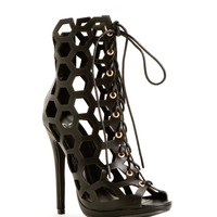 Black City Chic Heels