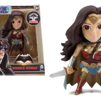 JADA DIECAST BATMAN VS SUPERMAN M17 WONDER WOMAN BLUE CAPE