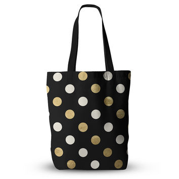 "KESS Original ""Golden Dots"" Everything Tote Bag"