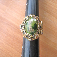 Sarah Coventry poison perfume ring vintage