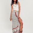 Jen's Pirate Booty for Free People Womens Nepal Printed Maxi Skirt