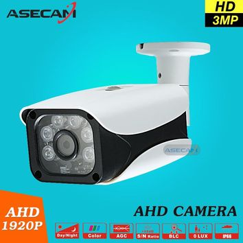 Security Camera 3MP AHDH System Video Surveillance With Bracket