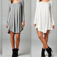 Draped Ballet Tunic Dress