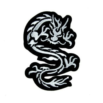 Chinese Dragon Patch Iron On Applique Alternative Clothing Bruce Lee