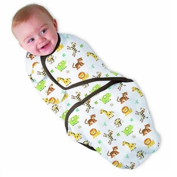 100% Organic Cotton Baby Easy Swaddle Wrap Blanket