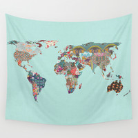 Louis Armstrong Told Us So Wall Tapestry by Bianca Green
