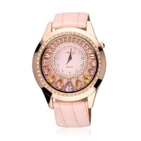 ZLYC Women's Luxury Rhinestone-studded Ladies Watch (B)
